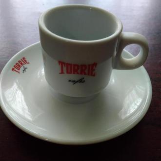 40..TORRIE..Чашка +блюдечко ..колекційні