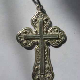 Крест - серебро, 2,43г