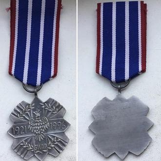 Медаль ветеранов армии Польши в Америке