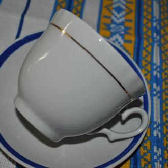 чайная пара, чашка с блюдцем. Барановка. Есть 5 шт.