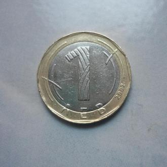 Болгария 1 лев 2002 биметалл