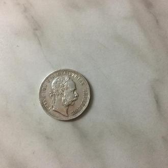 1 флорин 1873 год