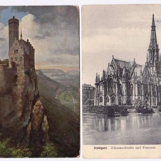 Архитектура .  Германия Рейх  - 2ПК   - замки и дворцы