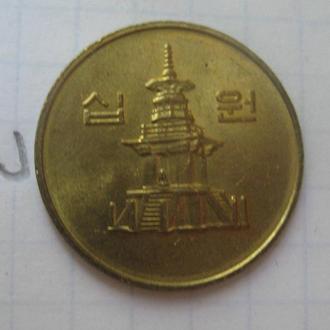 РЕСПУБЛИКА КОРЕЯ, 10 вон 2004 г. (состояние).