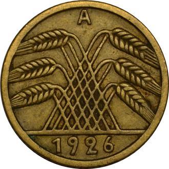 Німеччина 5 Pfennig 1926 A