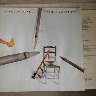 Paul McCartney ‎– Pipes Of Peace ( Germany ) LP