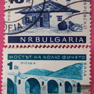 Марки Болгарии. Виды Болгарии.