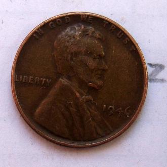 США. 1 цент 1946 г.