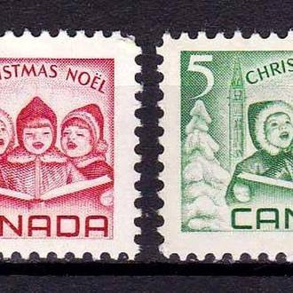 Канада 1967 г   MNH -