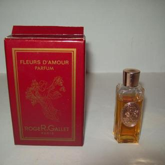 Духи Fleurs d`Amour Roger & Gallet времён СССР