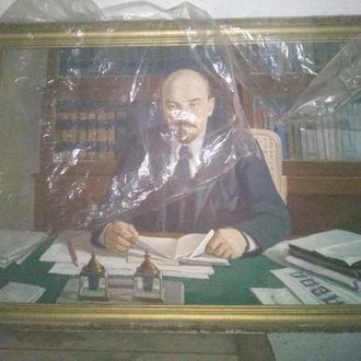 Картина, масло ,В.И.Ленин