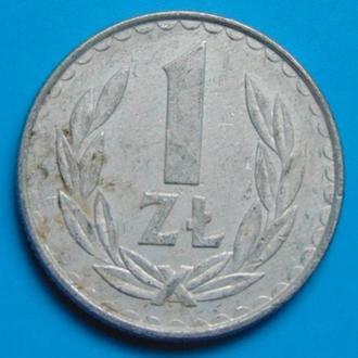 Польша 1 злотый 1984 г.