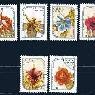 Куба. Цветы (серия) 1986 г.