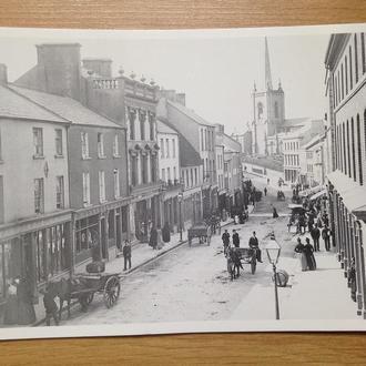 Почтовая открытка г.Энниски́ллен 1890 г. копия. Ирландия.