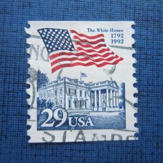 Марка США стандарт флаг белый дом гаш
