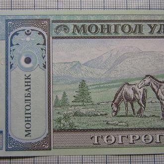 Монголия, 10 тугриков 2002 г портрет Сухэ-Батора Дамдина (1893 – 1923) UNC