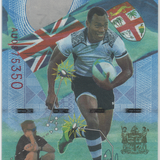 7 долларов Фиджи 2017г. в UNC из пачки