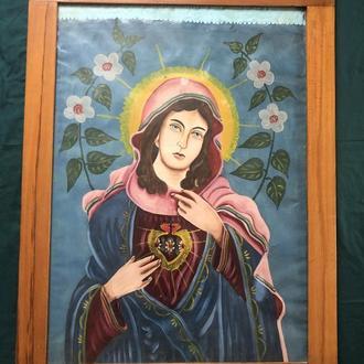 старовинна икона ікона Богородиця Діва Марія (№239)