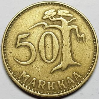Финляндия 50 марок 1953 год