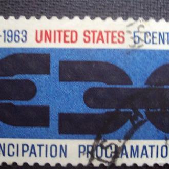 США 1963г. гаш.