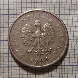 Польша, 1 злотый 1995