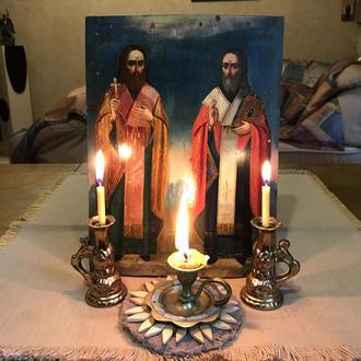 Икона святых Харлампия и Власия