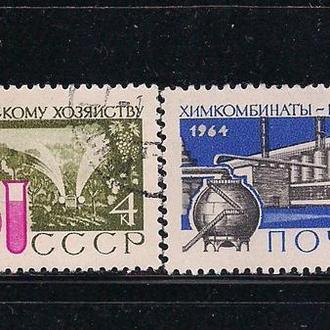 СССР, 1964 г., большая химия народному хозяйству