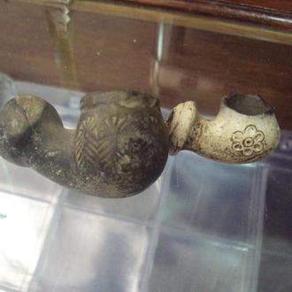 люлька трубка козацкая археология лот 2 шт
