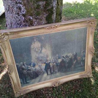 Рамка под картину дерево багет