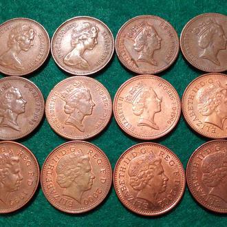 Великобритания 1 пенни (все одним лотом)