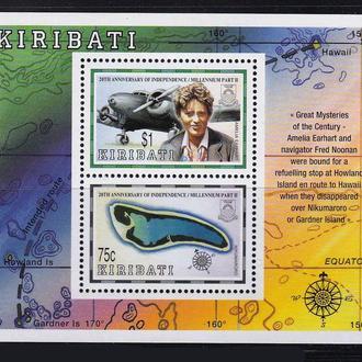Авиация .   Кирибати MNH - блок