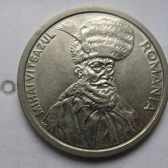 РУМЫНИЯ, 100 лей 1992 г. (гурт с надписью).