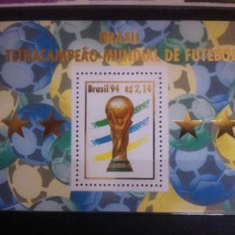 Бразилия футбол ЧМ 1994 победный блок**