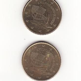 Кипр 2008, 50 евроцентов