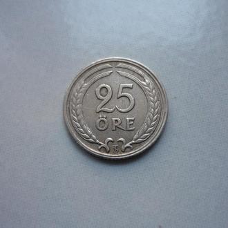 Швеция 25 эре 1946 TS