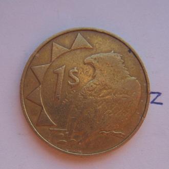 НАМИБИЯ, 1 доллар 1993 года (ОРЕЛ).