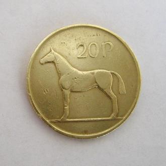 20 ПЕНСОВ = 1996 г. = ИРЛАНДИЯ