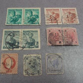 марки republik ofterreich Австрия император франц иосиф, михель лот 11 шт №27