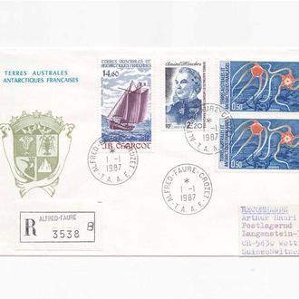 Фауна .  TAAF / ТААФ 1986 г - геральдика