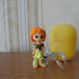 Стильные брелки,ландрин, 2006г.