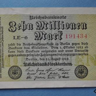 Германия, 10000000 марок (10 миллионов), 1923 г №434