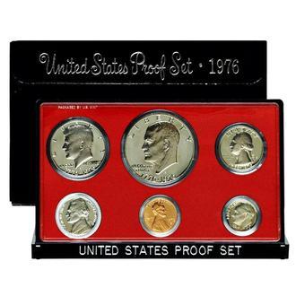 Годовой набор монет США (1976 год) (Пруф) (S)