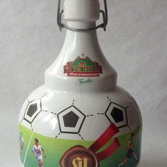 Бутылка *Футбол*. Стекло.