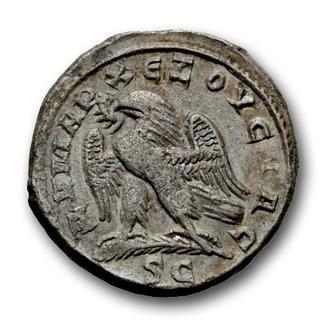 (А)3483 - Траян Деций (249—251 г.) BI Тетрадрахма