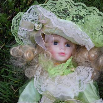 Кукла фарфоровая 42 см СУПЕРЦЕНА!