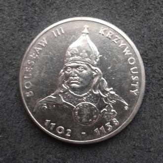 50 злотых 1982 г. Дюк Болеслав ІІІ Кривоусый.