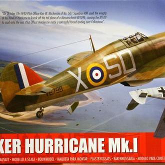 Сборная модель самолета Hurricane Mk.I 1:48 Airfix 05127