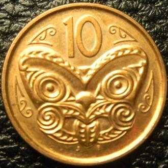 10 центів Нова Зеландія 2012