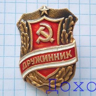 Значок Дружинник СССР 6