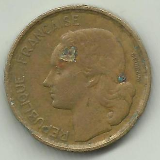 Франция 10 франков 1952